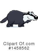 Badger Clipart #1458562 by Cory Thoman