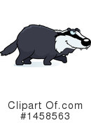 Badger Clipart #1458563 by Cory Thoman