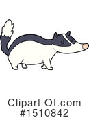 Badger Clipart #1510842 by lineartestpilot