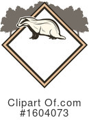 Badger Clipart #1604073 by Vector Tradition SM