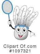 Royalty-Free (RF) Badminton Clipart Illustration #1097321