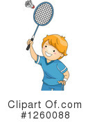 Royalty-Free (RF) Badminton Clipart Illustration #1260088