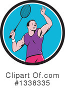 Royalty-Free (RF) Badminton Clipart Illustration #1338335
