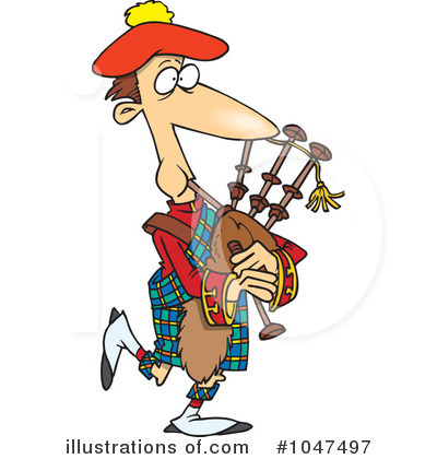 Bagpipes Clipart #1047497 by toonaday