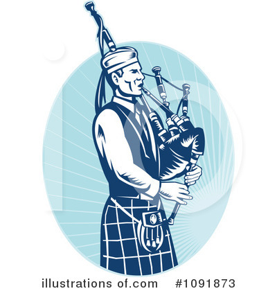 Bagpipes Clipart #1091873 by patrimonio