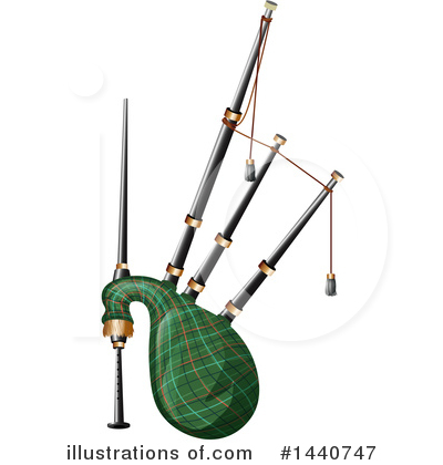 Bagpipes Clipart #1440747 by Graphics RF