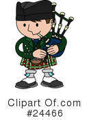 Bagpipes Clipart #24466 by AtStockIllustration