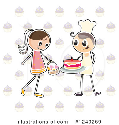 Royalty-Free (RF) Baker Clipart Illustration by Graphics RF - Stock Sample #1240269