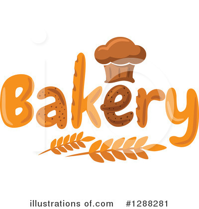 Bread Clipart #1288281 by Vector Tradition SM