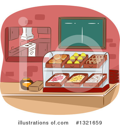 Cafeteria Clipart #1321659 by BNP Design Studio