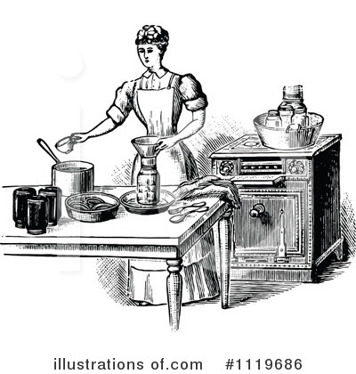 Cooking Clipart #1119686 by Prawny Vintage