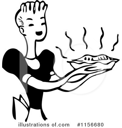 Royalty-Free (RF) Baking Clipart Illustration by BestVector - Stock Sample #1156680