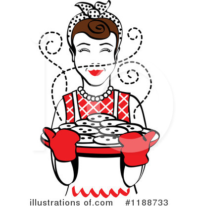 Housewife Clipart #1188733 by Andy Nortnik