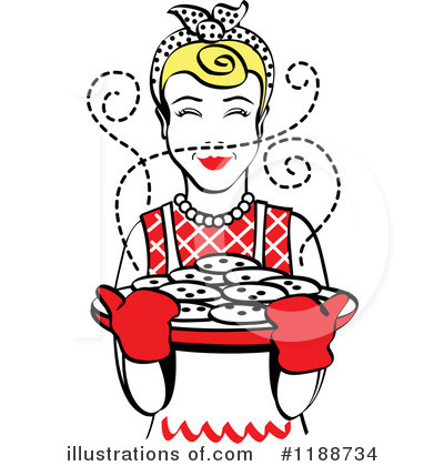 Housewife Clipart #1188734 by Andy Nortnik