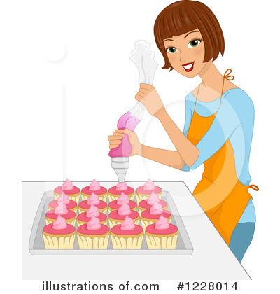 Cake Clipart #1228014 by BNP Design Studio
