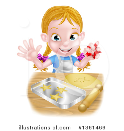 Baking Clipart #1361466 by AtStockIllustration