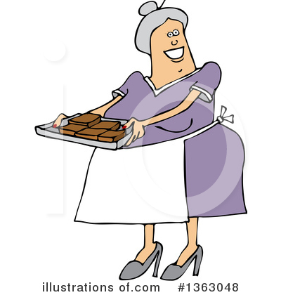 Old Woman Clipart #1363048 by djart