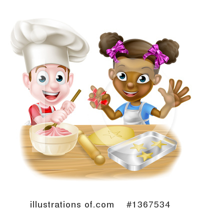 Chef Clipart #1367534 by AtStockIllustration