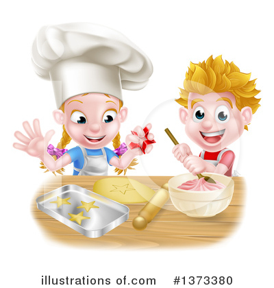 Baking Clipart #1373380 by AtStockIllustration