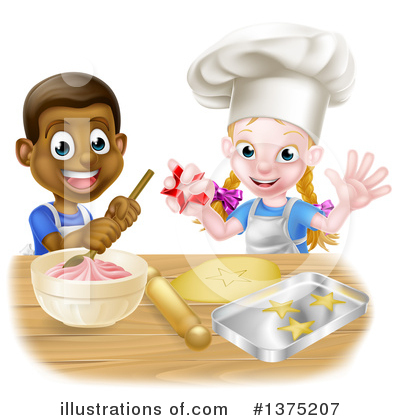 Baking Clipart #1375207 by AtStockIllustration