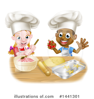 Royalty-Free (RF) Baking Clipart Illustration by AtStockIllustration - Stock Sample #1441301