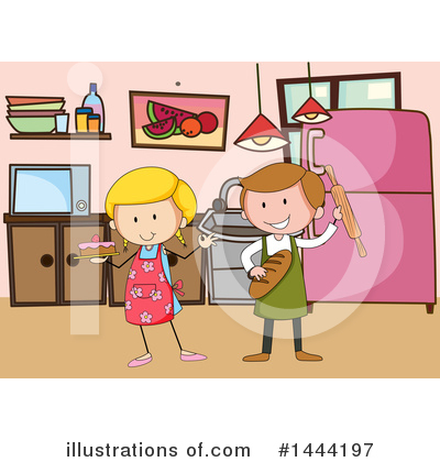 Baking Clipart #1444197 by Graphics RF