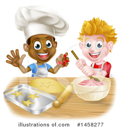 Chef Hat Clipart #1458277 by AtStockIllustration