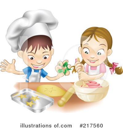 Baking Clipart #217560 by AtStockIllustration