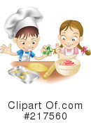 Royalty-Free (RF) baking Clipart Illustration #217560