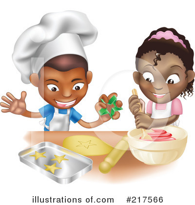 Chef Clipart #217566 by AtStockIllustration