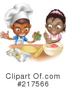 Royalty-Free (RF) Baking Clipart Illustration #217566