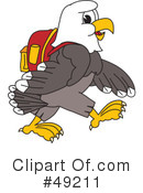 Bald Eagle Character Clipart #49211