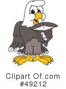 Bald Eagle Character Clipart #49212