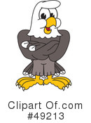 Bald Eagle Character Clipart #49213