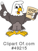 Bald Eagle Character Clipart #49215