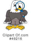 Bald Eagle Character Clipart #49216