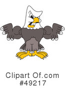 Bald Eagle Character Clipart #49217