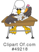 Bald Eagle Character Clipart #49218