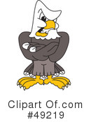 Bald Eagle Character Clipart #49219