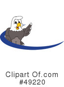 Bald Eagle Character Clipart #49220