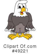 Bald Eagle Character Clipart #49221