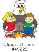 Bald Eagle Character Clipart #49222