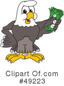 Bald Eagle Character Clipart #49223