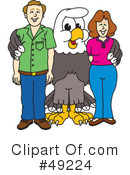 Bald Eagle Character Clipart #49224