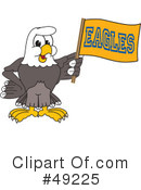Bald Eagle Character Clipart #49225