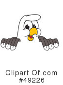 Bald Eagle Character Clipart #49226