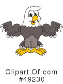 Bald Eagle Character Clipart #49230