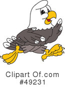 Bald Eagle Character Clipart #49231