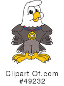 Bald Eagle Character Clipart #49232