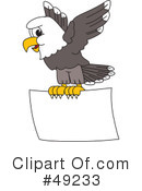 Bald Eagle Character Clipart #49233
